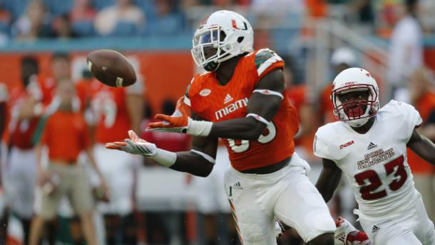David Njoku continues to nip at O.J. Howard's heels to be the first tight end taken in the 2017 NFL Draft | Joel Auerbach, Getty Images