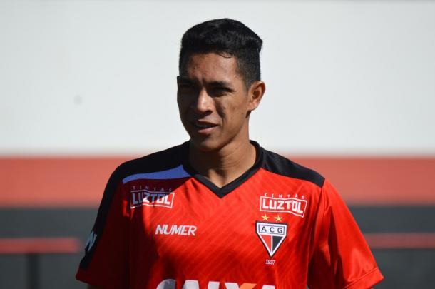 Igor chega para a meiuca tricolor | Foto: Paulo Marcos/Atlético-GO