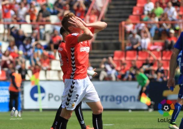El Nàstic acosó la portería del Real Oviedo sin éxito | Foto: LaLiga.