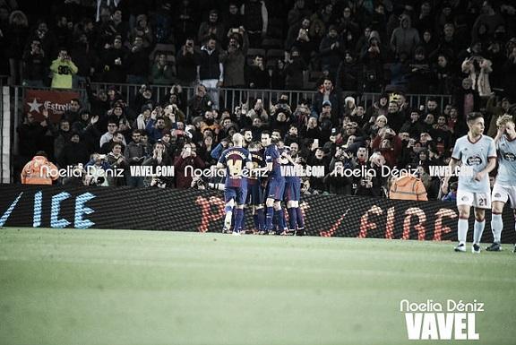 Partido del FC Barcelona ante el Celta   Foto: Noelia Déniz - VAVEL