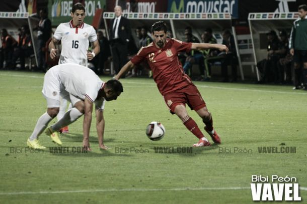 Nolito se ha convertido en un fijo con la selección. Foto: Bibi Peón (VAVEL España)