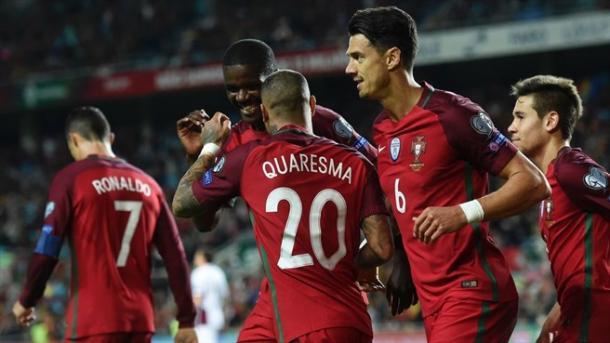A Selecção Portuguesa é 2ª do Grupo B | Foto : uefa.com/worldcup