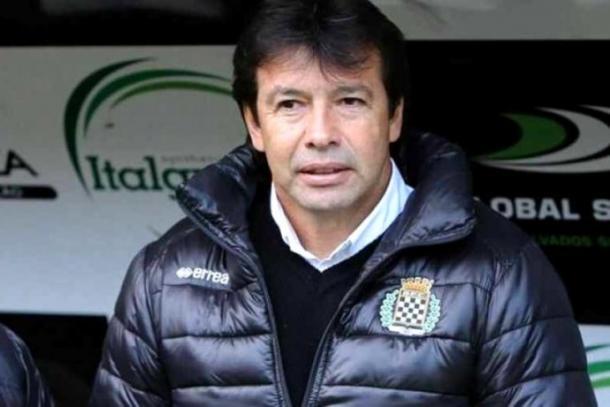 Sánchez asumió el banquillo del equipo hasta octubre de 2016 / www.boavistafc.pt