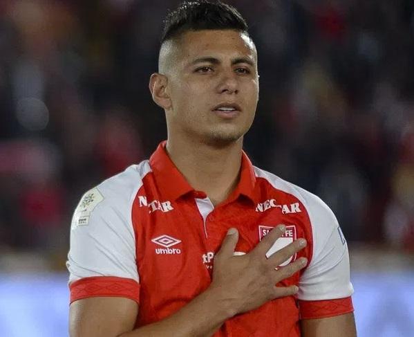 Juan Daniel Roa, en lo que pueden ser sus últimos partidos con Santa Fe. Imagen: Independiente Santa Fe.