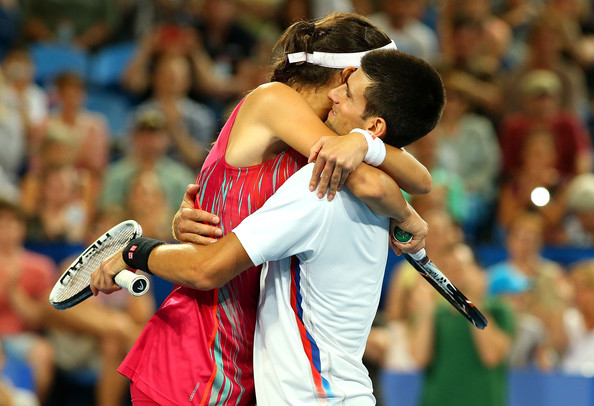 Djokovic was saddened at the news of Ivanovic's retirement (Photo by Paul Kane / Getty Images)