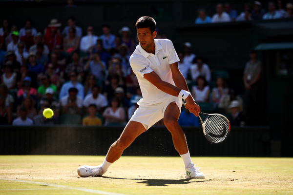 Djokovic is finding his form at the right time and he will be tough to beat in London (Photo by Clive Brunskill / Getty)