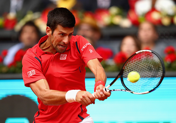 Novak Djokovic was dominate in his outing at the Mutua Madrid Open today. | Photo: Clive Brunskill/Getty Images