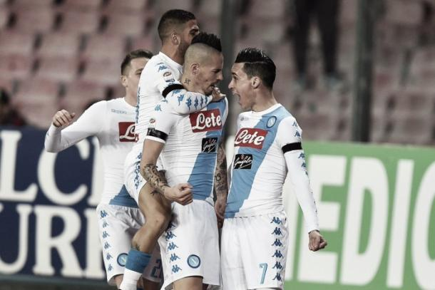Napoli ganó su último contra Inter.   Foto: SSC Napoli