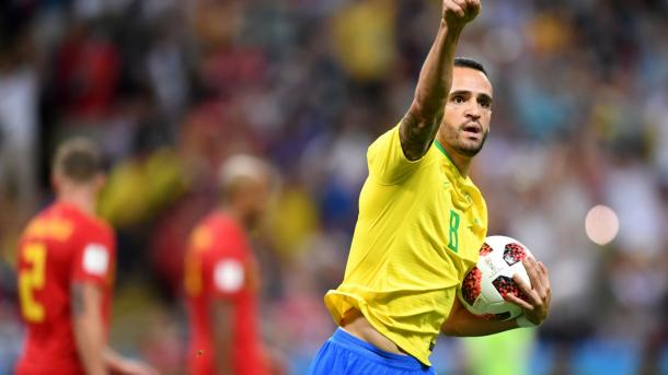 Renato Augusto's goal gave Brazil a lifeline | Source: Getty Images via FIFA.com