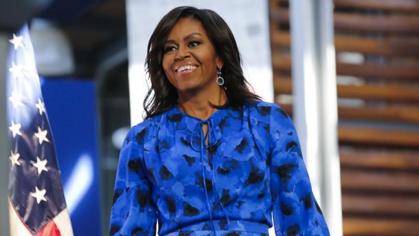 Michelle Obama en su visita a Argentina. Foto: Imagen Web.