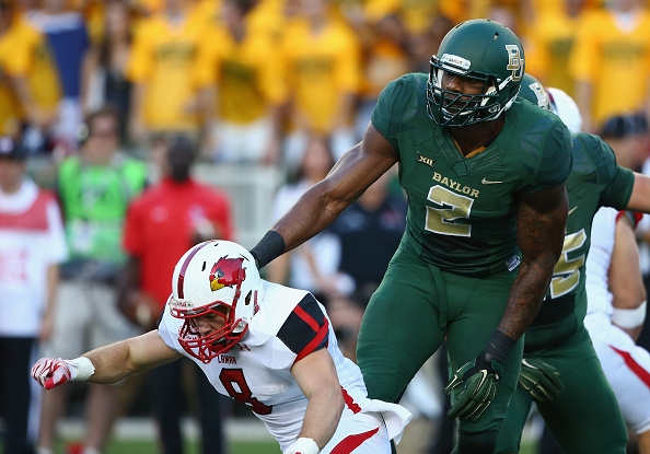 Shawn Oakman was one of several players convicted of sexual assault under Art Briles' watch.