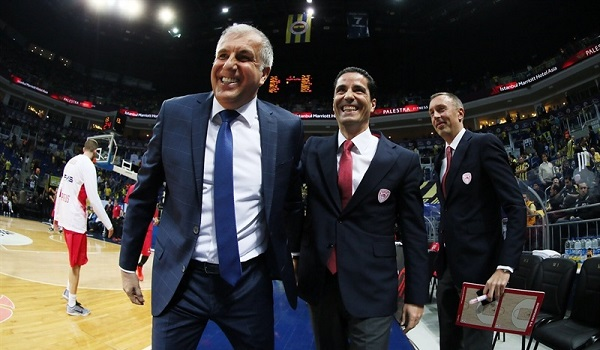 Obradovic e Sfairopoulos: a voi la gloria
