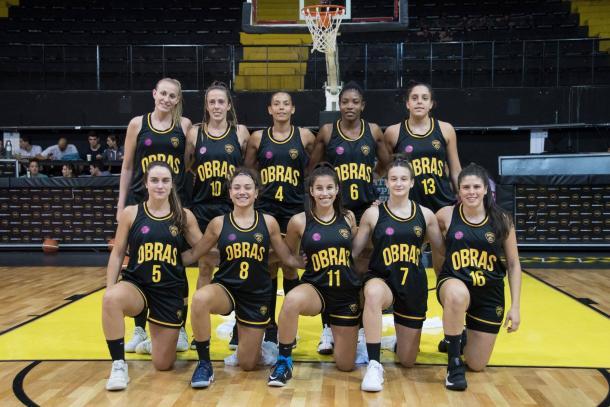 El equipo. Foto: Obras Basket