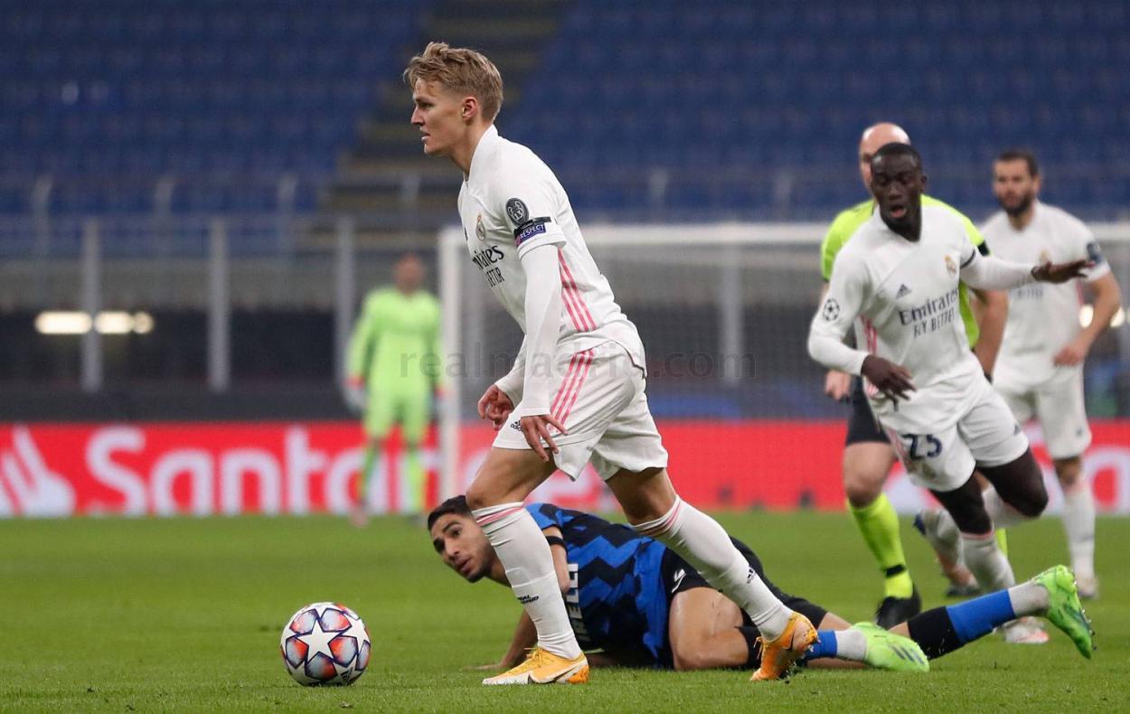 Odegaard   Foto: Real Madrid