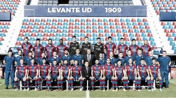 Plantilla Levante UD 2016/17, ascenso a Primera División | Foto: Levante UD