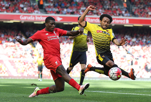 Ojo featured again for Liverpool's first-team in the 2-0 win over Watford at the weekend. (Picture: Getty Images)