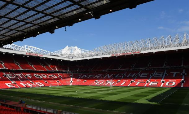Old Trafford. Foto:Manchester United.