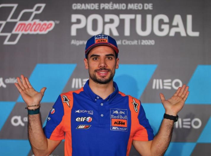 Oliveira en el GP de Portugal / foto: motogp.com