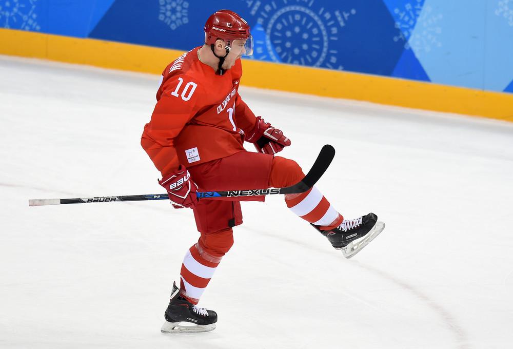 La medalla de oro olímpica, su gran hito internacional   Foto. en.khl.ru