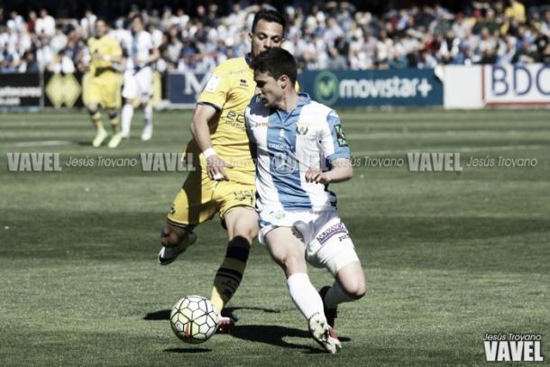 Omar Ramos en un encuentro de la temporada pasada | Foto: Jesús Troyano - VAVEL.com