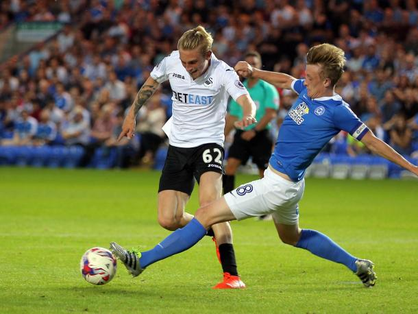 Man of the match McBurnie finds a yard and curls one in to the far post. | Image credit: Getty Images