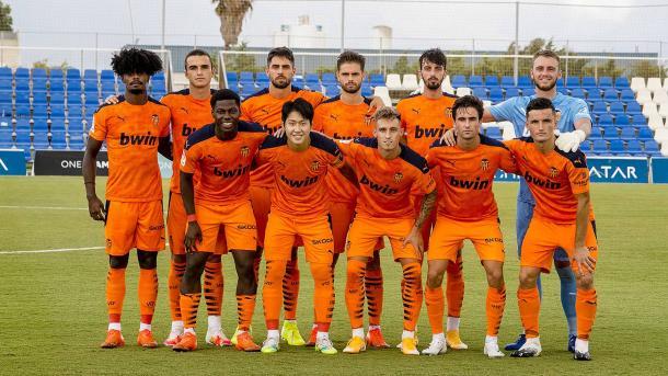 Ocho canteranos en el once inicial frente al Levante UD | Fuente: Valencia CF