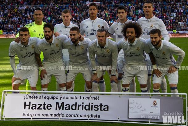 Once del Real Madrid ante el Leganes. | FOTO: Daniel Nieto - VAVEL España