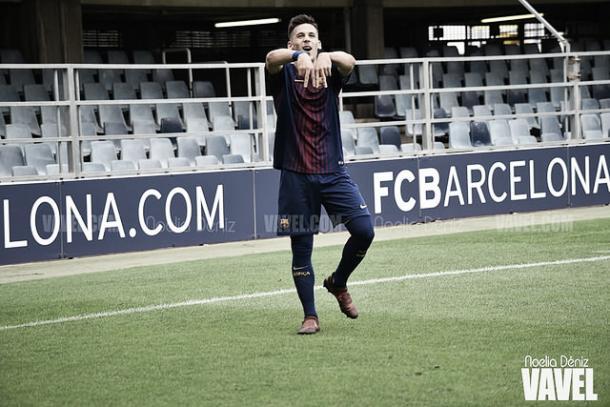 Carles Pérez, celebrando un gol | Noelia Déniz - VAVEL