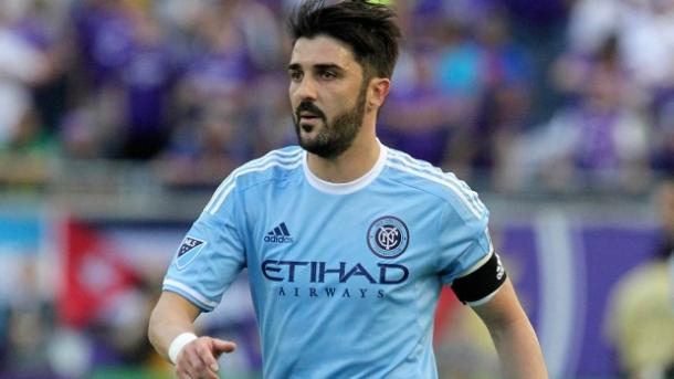 David Villa is fulfilling his ole as captain remarkably well | Source: mlssoccer.com