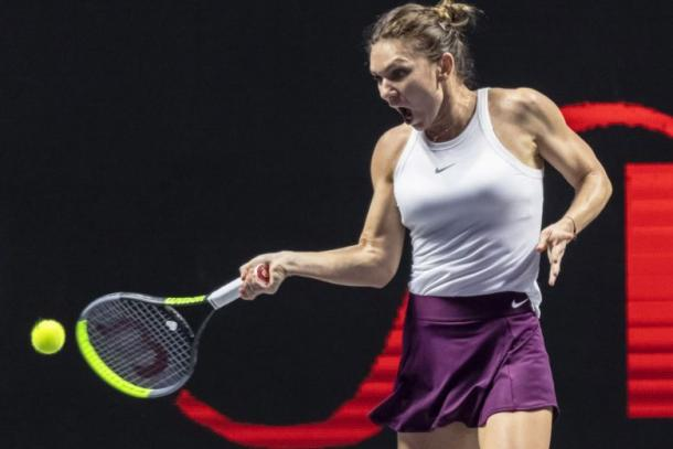 Halep makes her season debut at the tour's newest event/Photo: EPA-EFE