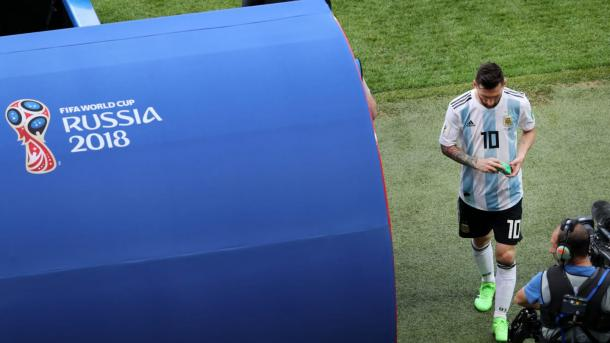 Sampaoli reconoció que Messi sufría como ningún otro | Foto: Getty Images.