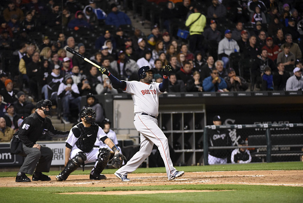 David Ortiz smashes his sixth home run of the season.   Photo: Getty Images