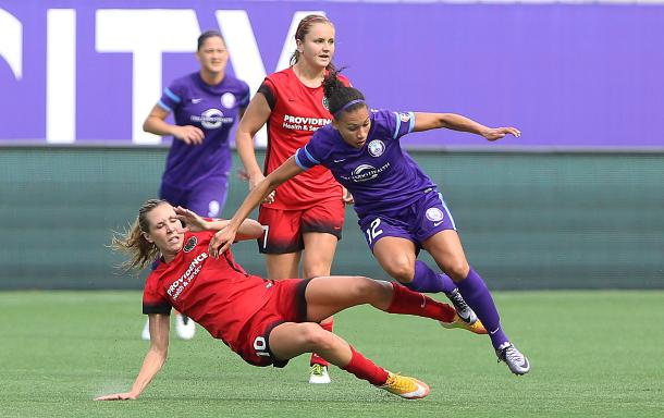 Portland Thorns FC and the Orlando Pride will be the first NWSL Game of the Week | Source: Charles King-Orlando Sentinel