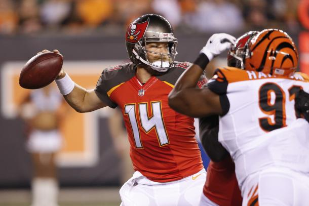 Ryan Fitzpatrick will start should Winston be suspended | Source: Gary Landers-Associated Press