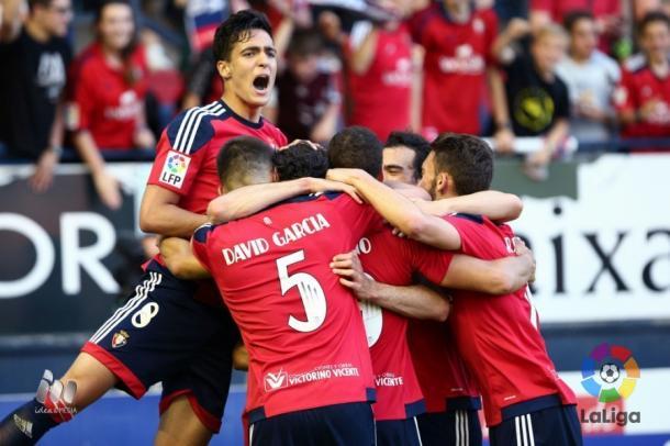 En el 58' Osasuna ganaba por 3-0 | Foto: LaLiga.