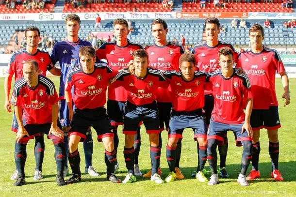 Ascenso de Osasuna, once jugadores de Tajonar entre ellos. Foto: EFE