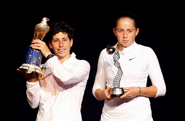 Ostapenko reached her second WTA final (Photo: Getty Images/Anadolu Agency)