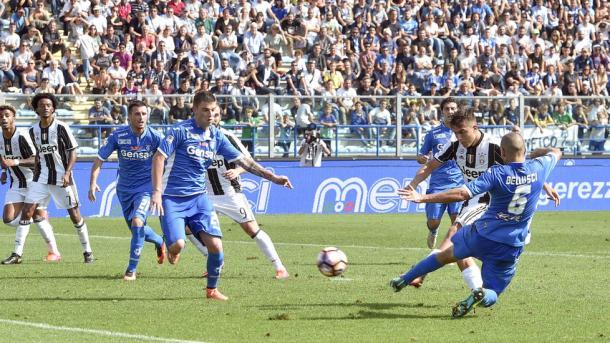 La rete di Paulo Dybala | Foto: jcmelegnano.net