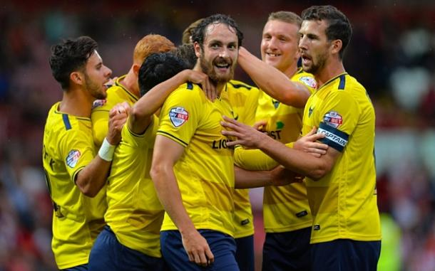Oxford United have had a flying start to the new season and will be a tough opponent for Swansea. (Photo: Telegraph)