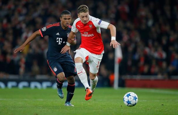 Arsenal faced Bayern Munich in last year's group stage | Photo: The Guardian