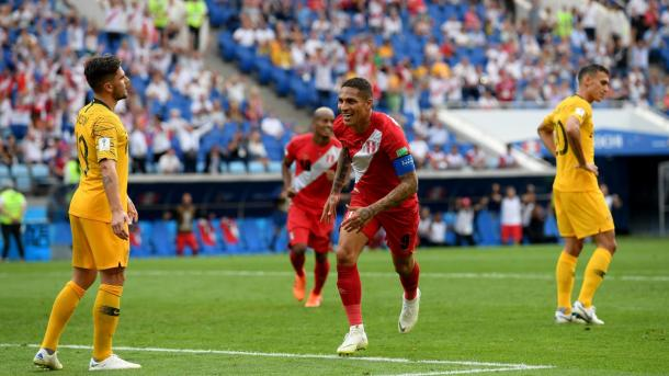 Paolo Guerrero gave his country their first ever World Cup win | Source: Getty Images via FIFA.com
