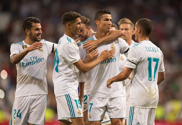 CR7 comemora seu gol | Foto: Denis Doyle/Getty Images