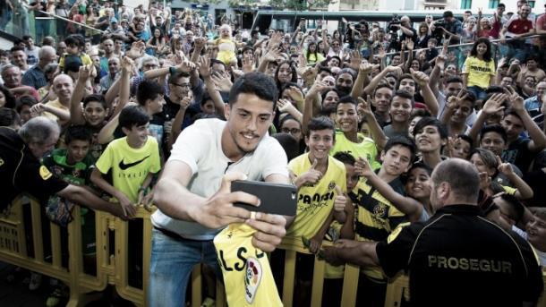 Presentacion de Pablo. Foto: Villarreal CF