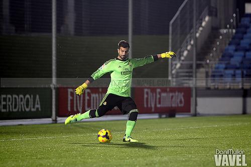 Pacheco, cuando jugaba en el Castilla. / Foto: Dani Mullor, VAVEL