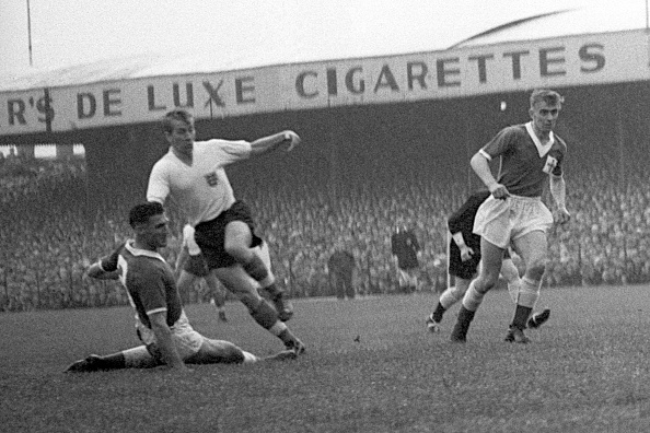 Bobby estreou pelo English Team em 1958 | Foto: PA Images via Getty