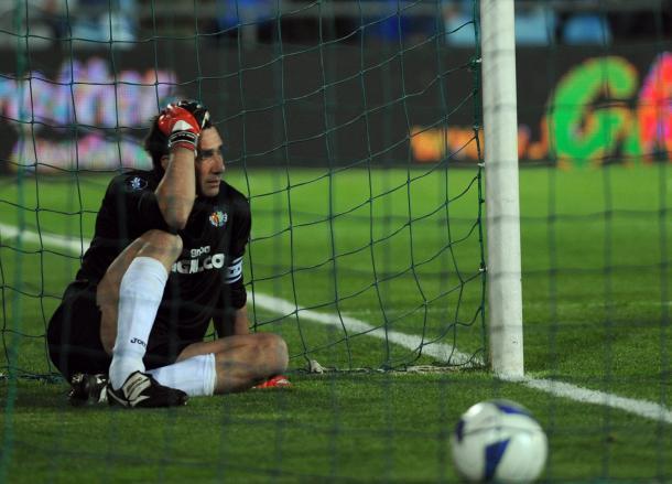 Pato desolado tras el gol del Bayern en el último minuto   Fuente:panenka
