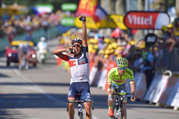 Pantano produced a great display yesterday / Cycling Weekly