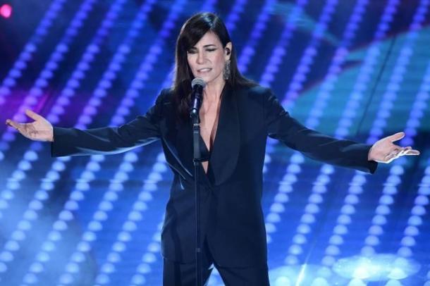 Paola Turci in un'esibizione al Festival di Sanremo | Ansa