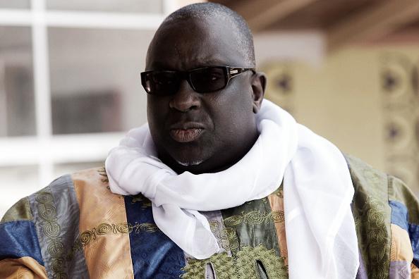 Papa Massata Diack teria sido mediador da compra do voto de seu pai, Lamine Diack (Foto: Seyllou/AFP/Getty Images)