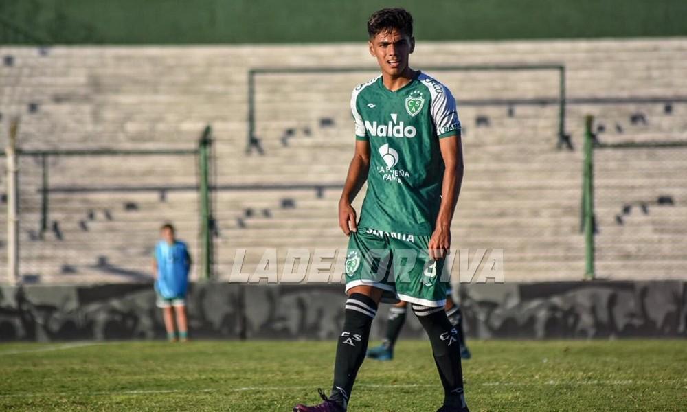 Federico Paredela, el futuro de Sarmiento. Foto: La Deportiva.